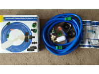 Mains Water Adapter Kit and extension. Connect your water container to the water mains!