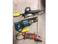 Hand tools 110/130 Volt £60 for all