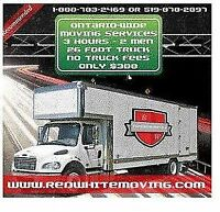 Brantford's First Choice Movers $300 for 3 hours No truck fee