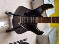 Yamaha erg121 electric guitar, black