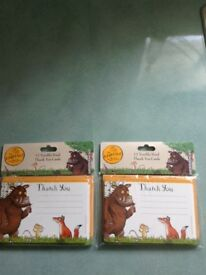 Gruffalo Thank you cards