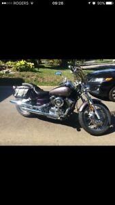 Yamaha V-Star 650 Purple