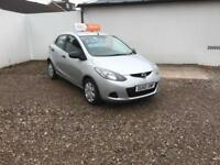 2010 60 MAZDA 2 1.3 TS AIR CON,5DR ONLY 64000 MILES WITH WARRANTED MILES