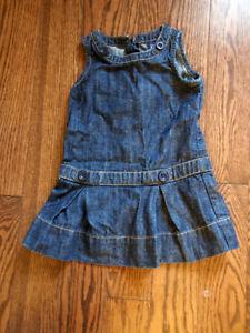 Toddler Jean Dress Baby Gap