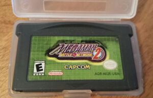 Megaman Battle Network 2 MMBN GBA GameBoy Advance Nintendo