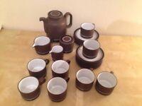 Vintage Hornsea Contrast Tea Set