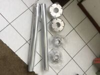 2 x brand new camper van island table legs and