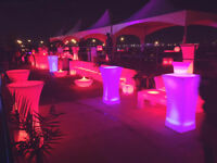 LED bar for rent - VIP your wedding!