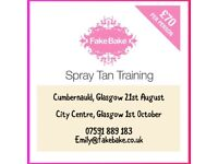 SPRAY TAN (TRAINING)