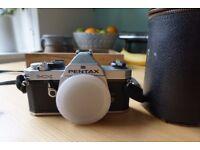 Pentax MX SLR Film Camera with 80-320mm Lens kit