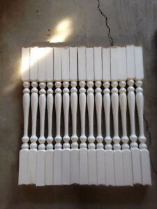 Solid Wood balusters spindles, Handrails, Posts & Shoerails