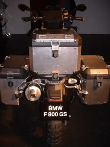 ISO - Aluminum Panniers and Top Box for BMW F800GS