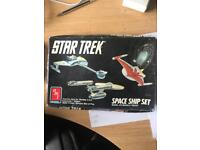 Star Trek model 1970's complete Amt ertl