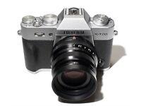 Fujifilm Fuji X-T20 camera + Fuji XF35mm f2 (LIKE NEW WITH RECEIPTS/WARRANTY)