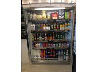 Multi deck display fridge suitable for cafe, shop or gym