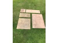 Reclaimed natural yorkstone pavers