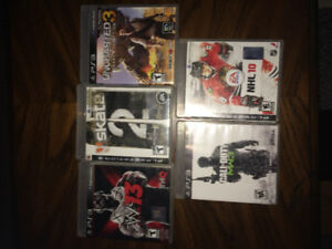 Ps3 games. Barely used