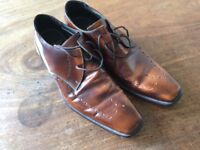 Almost new Autograph brogue shoes