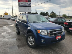2008 Ford Escape XLT 4WD, Leather, Heated Seats, Warranty