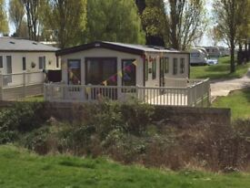 LUXURY HOLIDAY HOME WITH DECKING FOR SALE ESSEX COAST
