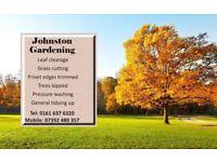 johnston gardening