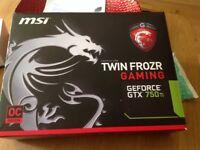 MSI Twin Frozr Gaming Graohics Card GTX 750ti