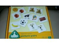 ages 2 _ 6 picture pairs ( 54 cards )