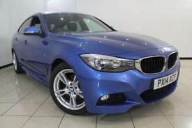2014 14 BMW 3 SERIES 2.0 318D M SPORT GRAN TURISMO 5DR 141 BHP DIESEL