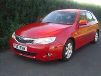 Subaru Impreza auto 5 door 1.4 hatchback only 44000 miles, full service history