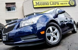 2011 Chevrolet Cruze LT Turbo! USB/AuxIn+Cruise! ONLY $90/bi-wee