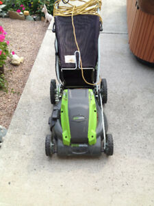 Greenworks Electric Lawnmower