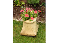 Vintage Chimney Pot - Ideal Garden Planter (2 available)