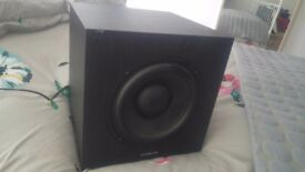 Cambridhe audio sx120 subwoofer