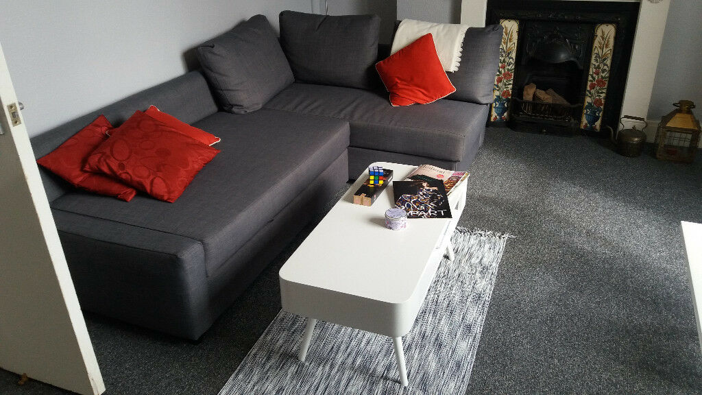 BRAND NEW FURNITURE TO SELL BECAUSE OF RELOCATIONin Gloucester Road, BristolGumtree - I am relocating to London and would therefore like to sell a number of furniture items that are brand new/6 months old. Happy to give them away for more or less half the price. IKEA Friheten Corner sofa bed that converts quickly and easily into a...