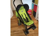 Chicco Echo stroller - black and green