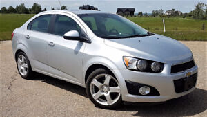 2015 Chevrolet Sonic LT Loaded, Alloys,Touch Screen, Sunroof