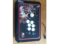 Marvel vs Capcom 3 Limited Edition PS3 Fight Stick with Original Box and Instructions