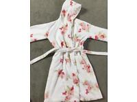 White Company Dressing gown girls