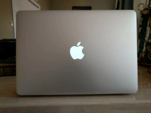 Macbook Air with Apple Case