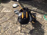 Dunlop Jr golf set with bag