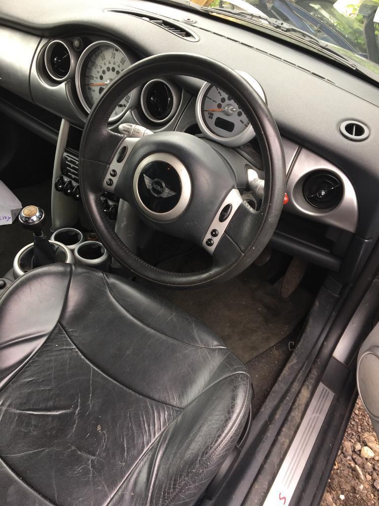 Mini Cooper S 2003 Multi Functional Steering Wheel