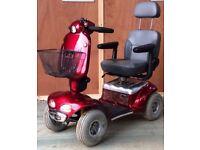 Shoprider Cadiz large 8mph full suspension pavement mobility scooter
