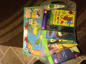 Leap Frog Tag - pen, map and books