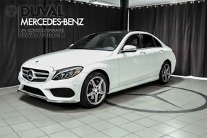 2015 Mercedes-Benz C-Class C300 4MATIC + SPORT / CAMERA / GPS /