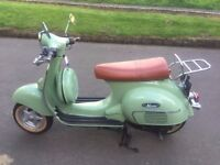 Neco Abruzzi 50cc Retro Scooter, 2012,Vespa,Lexmoto,Milano,Vintage, 515 miles guaranteed. One Owner.