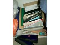 Folders and ring binders