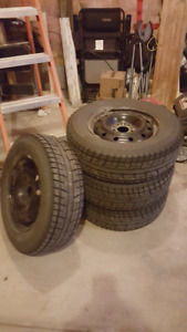 4 Winter Tires with rims!!!