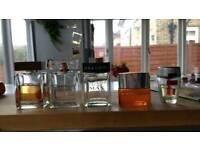 Various mens fragrances EDT, Dolce & Gabbana, Bvlgari, Hugo Boss, Clinique