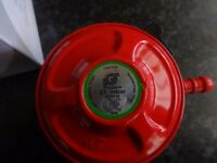 Patio gas regulator