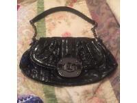 Original Guess Black Shoulder Handbag